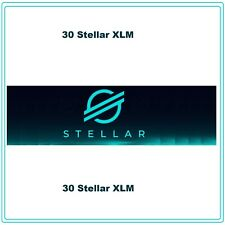 30 Stellar-Lumens (30 XLM) CRYPTO MINING-CONTRACT, Crypto Currency