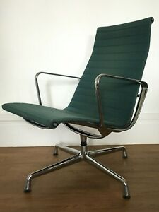 GENUINE CHARLES EAMES EA116 LOUNGE CHAIR FOR VITRA -  chrome 2 available