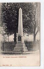 Dr MOFFAT'S MONUMENT, ORMISTON: East Lothian postcard (C13009)
