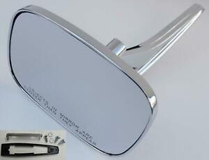 Morris Classic CONVEX CLEAR SHOT V2 Mirror GM Square Side Rear View Outer Door