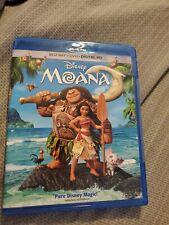 MOANA Blu-ray DVD 2 disc combo.