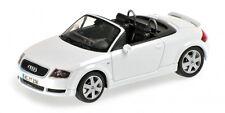 Audi Tt Roadster 1999 White 1:43 Model MINICHAMPS