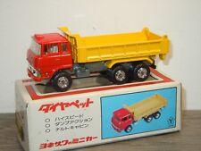 Mitsubishi Fuso FV Tipper Truck - Diapet Yonezawa Toys T-10 Japan in Box *35688