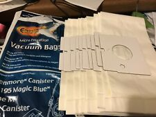 Kenmore Canister Vacuum Bags Type M Number 51195 Magic Blue