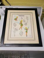 Vintage 1999 Disney Tinker Bell Sericel PIXIE POSES Limited 3500 Original Frame