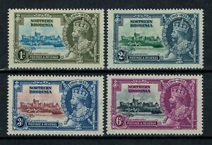 Northern Rhodesia, Scott 18 - 21 in MH Condition