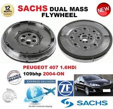 FOR PEUGEOT 407 1.6 HDi 110 109hp 2004-ON SACHS DMF DUAL MASS FLYWHEEL & BOLTS