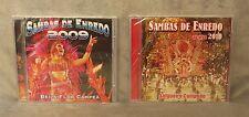 2 CDs • Carnaval 2009: Sambas De Enredo & Sambas De Enredo Ao Vivo 2010 • NOS