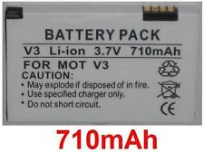 Battery 710mAh type SNN5696A SNN5696C BR50 SNN5696B For Motorola RAZR V3i
