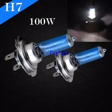 H7 Xenon Halogen Headlight 100w Bright White 5000K Lamp Light Bulb #c7 High Beam