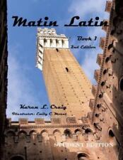 Matin Latin Book 1, 2nd Ed, Student (Paperback or Softback)