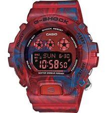Casio G-Shock S Series Red and Blue Digital Quartz Unisex Watch GMDS6900F-4