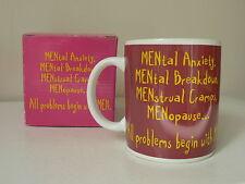 NEW - NoveltyMEN Coffee Mug (Brand New in Box)