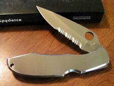 Couteau Spyderco Endura 4 Lame Acier VG-10 Manche Acier Made In Japan SC10PS