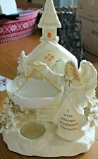 2010 Yankee Candle ANGEL and CHURCH Tart Warmer ~~New in Box~~ EXTREMELY RARE!!