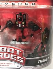 Transformers Robot Heroes G1 Thrust Mini Figure Decepticon Seeker New Loose