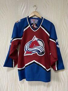 COLORADO AVALANCHE ICE HOCKEY SHIRT JERSEY CCM NHL # 33
