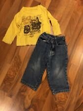 Calvin Klein Infant Boys Jeans & Tee Outfit 24M GUC