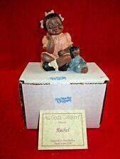 """All God'S Children By Miss Martha Originals Figurine """"Rachel"""" Edition #174"""