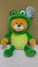 NEW Bear in Frog Suit, Plush Toy, Doll, Stuffed Animal