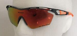 Rudy Project TRALYX XL Orange Grey Sunglasses Laser Orange Mirror Lens Ref:205