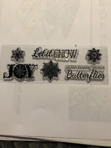 Christmas Rubber Stamping Crafting Card Making Scrapbooking