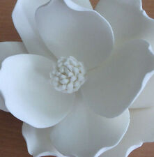 White Medium Magnolia Sugar flower wedding birthday cake decoration topper