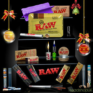 RAW Rolling Papers Last Minute XMAS Gift Metal Rolling Tray SPECIAL DELIVERY!!