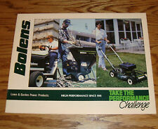 Original 1989 Bolens Lawn & Garden Power Products Sales Brochure 89 Mower