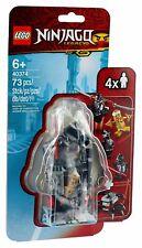 LEGO® Ninjago 40374 Goldener Zane ? Minifiguren-Zubehörset NEU OVP