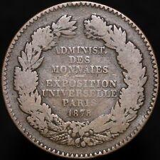 More details for 1878 | france 'exposition universelle paris' medal | bronze | medals | km coins