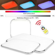 12-96W LED Deckenleuchte Badleuchte Deckenlampe Küche Wohnzimmer Dimmbar IP44