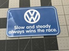 Slow Sticker Decal Vw Volkswagen Mk2 Mk1 Mk3 Mk5 Mk4 Mk6 Mk7 Gti Gli Jetta Golf