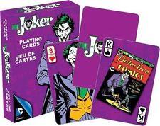 THE JOKER RETRO - PLAYING CARD DECK - 52 CARDS NEW - BATMAN VILLAIN 52302