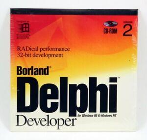 Borland Delphi Developer Version 2 Windows 95 / NT 32-bit HDB1320WW1018Q BOR8803