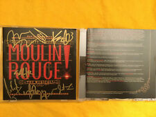 SIGNED OLIVIO, TVEIT & CAST Moulin Rouge! The Musical Original Broadway CD WOW!