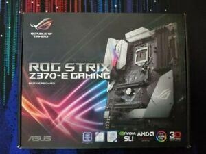 Asus ROG Strix Z370-E Gaming Motherboard