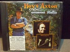 HOYT AXTON EXTREMELY RARE RAVEN LABEL TWO FER CD SOUTHBOUND/FEARLESS