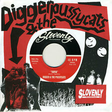 """DIGGER & THE PUSSYCATS 'Night of Two Moons 7"""" Magnetix Scientists Eddy Current"""