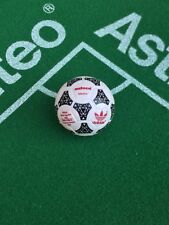 Subbuteo Adidas Tango Azteca 1986 World Cup Ball - Red font