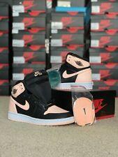 Nike Air Jordan 1 High Black Crimson Tint. Size 4Y