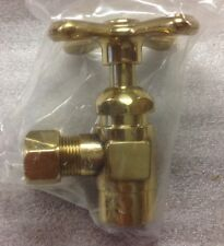 """Lot Of 21 The Broadway Collection 1/2""""x 1/2"""" Thread Angle Supply Valve Brass"""