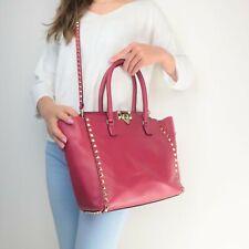 Valentino Leather Medium Tote Rockstud Bag