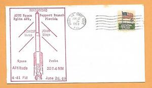 NIKE HYDAC SPACE PROBE JUN 27,1969 EGLIN AFB