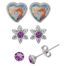 Jewelry Kids Stud Earrings Box Set New Disney's Frozen Anna & Elsa