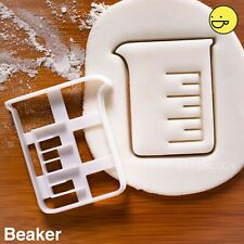 Beaker cookie cutter | Science laboratory equipment chemists scientist biscuit