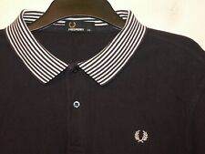 """Fred Perry regular fit polo shirt t-shirt SM1049 XXL 2XL 50"""" chest F557"""