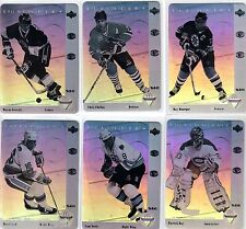1991/92 McDONALDS HOLOGRAMS COMPLETE 6 CARD INSERT SET