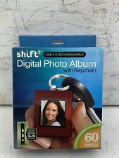 Shift3 Digital Picture Frame Keychain Photo Album Red