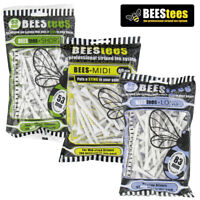 Bees Tees Wooden Golf Tee Packs (53mm, 69mm or 83mm) - NEW! 2020